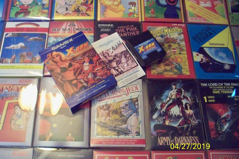 Atari 2600/7800 X Man w/ box & manual