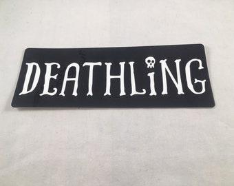 "Order of the Good Death ""Deathling"" Die-Cut Sticker"
