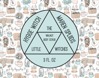 "Hygge Witch ""Maren Spliids"" Walnut Scrub"