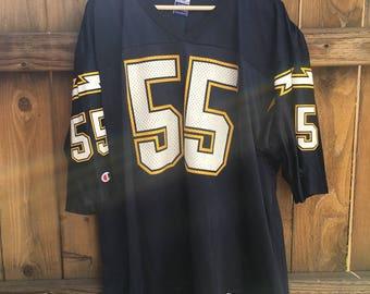 Vintage NFL Champion San Diego Chargers Junior Seau
