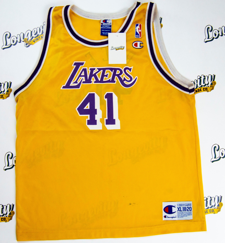 9e3331e1031 Vintage Los Angeles Lakers Glen Rice Jersey