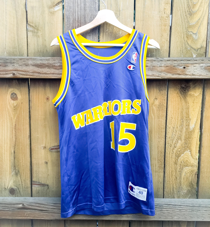 18d5bb8ab Vintage NBA Champion Jersey Golden State Warriors Latrell Sprewell