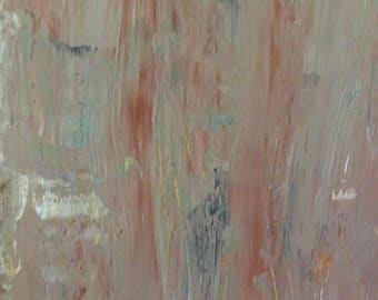 Modern abstract painting tan