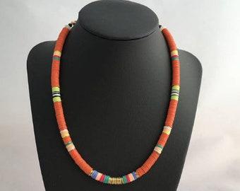 Beaded Necklace/Summer Necklace/Choker Necklace/Boho Necklace