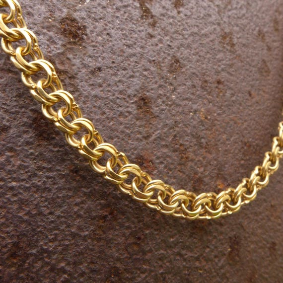 chaine collier homme or