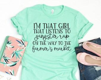 Farmers Market T Shirts Women  Gardening Shirts  Homegrown Shirt  Nature Apparel  Plus Size TShirts  Heather  Farm Fresh 10 Cents