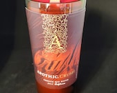 Recycled Wine Bottle Candle (Christmas Cabernet Scent)