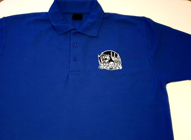 Embroidered Rucktion Logo Polo Shirt
