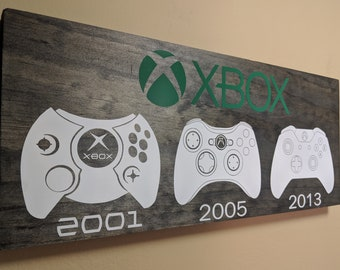 Wooden Xbox Inspired Plaque