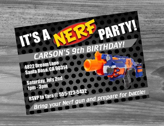 Dart Urodziny Zaproszenie Custom Party Wysokiej Jakości Etsy