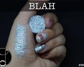BLAH- pressed glitter eyeshadow