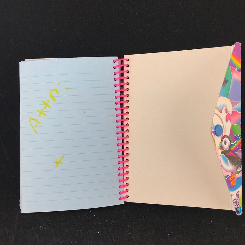 Vintage 1990/'s Lisa Frank Roary the Polar Bear Notebook. Used Has some writing on pages and wear to cover.