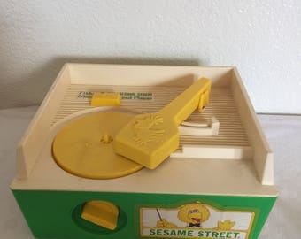 1984 Fisher Price Sesame Street Record Player