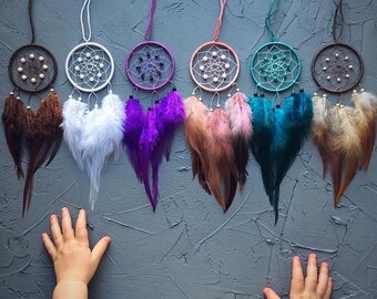 Dream Catcher For Car Catchers Gift Under 20 Small Her Birthday Coworker