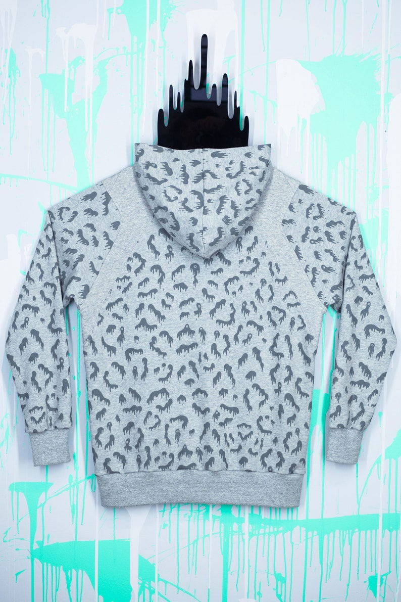 b39e541b587d8 Dripard Hoody Grey Jersey Designer hoodie top quality 100% | Etsy
