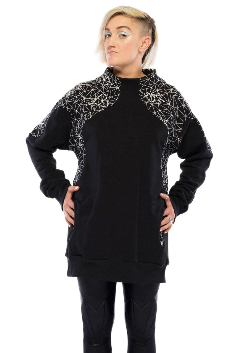 95e8ab92970c1 SALE NOW ON Geo Pop Sweatshirt over sized top unisex top | Etsy
