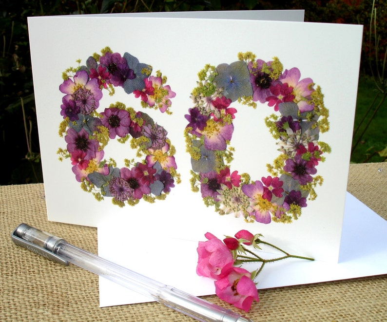 60th Birthday Card SayingItWithFlowers Mum