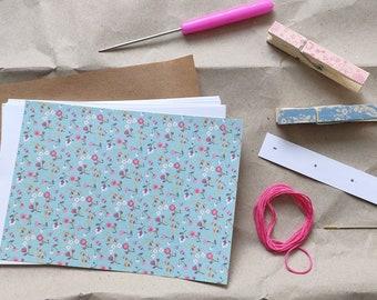 DIY kit Japanese bookbinding *Starter* with free e-book