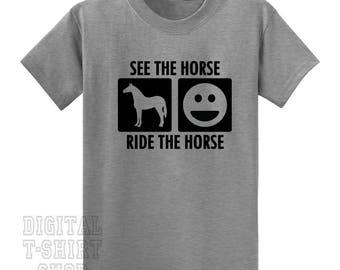 See a Horse Ride a Horse