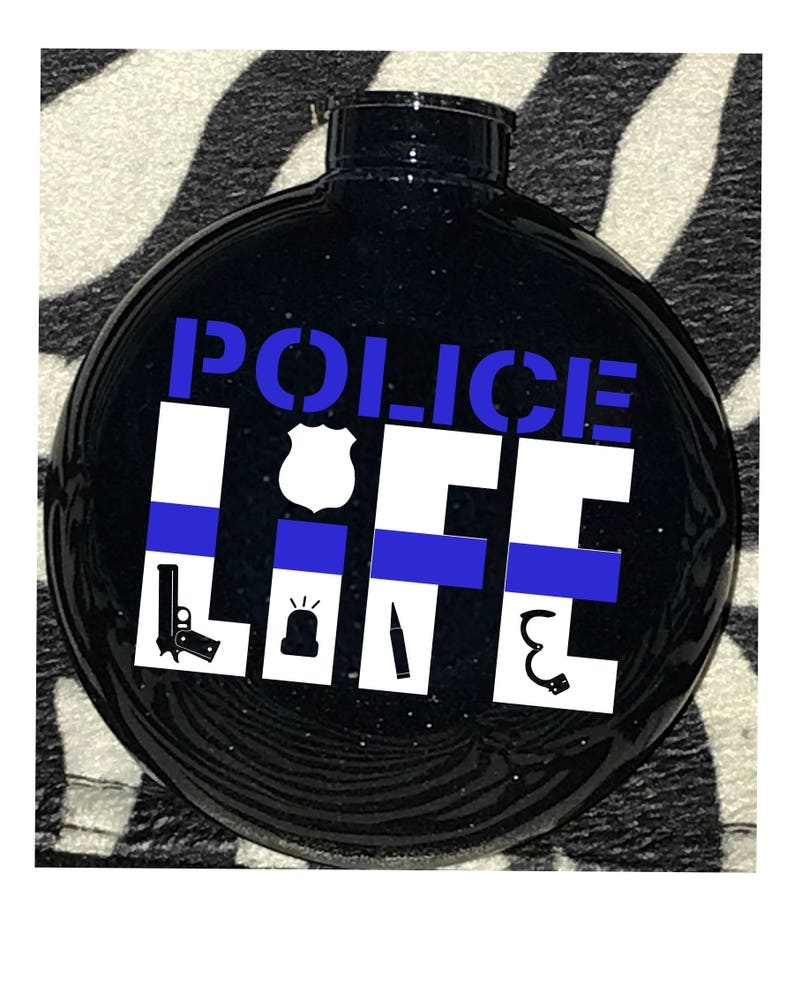 Police Ornament Thin Blue Line ornament Peace Makers Law Enforcement Ornament Police wife gift LEO Ornament TBL Police Wife Ornament