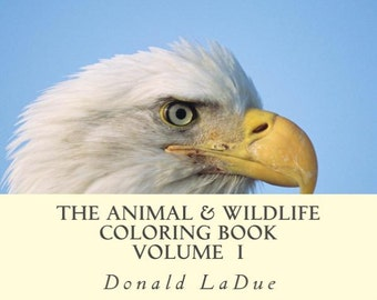 The Animal & Wildlife Adult Coloring Book