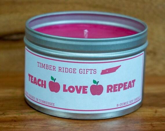 Thank You Teacher Gift, Thank You Teacher, Teacher Candle Gifts, Gifts For Teacher, Teacher Gifts, Teacher Candle, Candle For Teacher