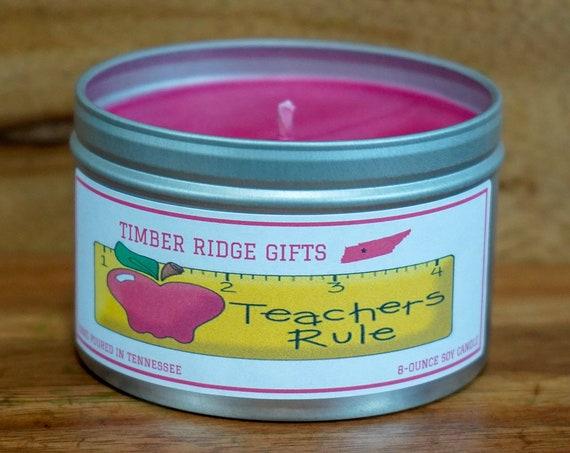 Gifts For Teacher, Teacher Gifts, Teacher Appreciation Gift, Teacher, Teacher Candle, Candle For Teacher, Present For Teacher
