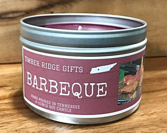 BBQ Gifts, BBQ Gifts For Men, BBQ, Gifts For Men, Barbeque Gift, Bbq Candle, Scented Candle, Candles For Men, Candle Gift