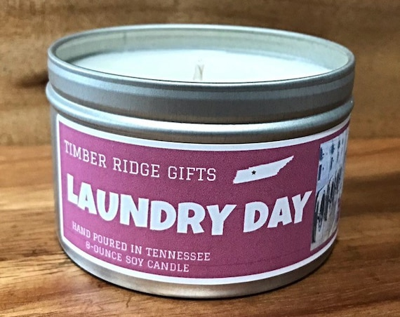 Laundry Day, Laundry Scent Candle, Scented Candles, Laundry Scented, Clean Candle, Clean Cotton Candle, Cotton Candle, Soy Candle