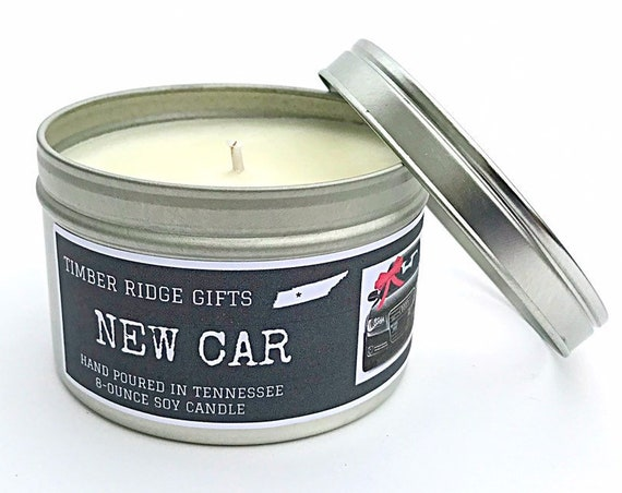 Car Gifts, Manly Gift, New Car Gift, Fathers Day Gift, Candles For Men, Man Candle, Novelty Gift, Soy Candles Handmade, Husband Gift