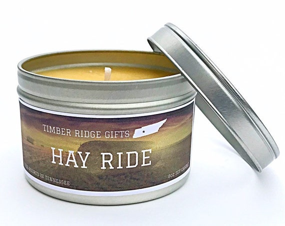 Hay Scented Candle, Soy Candles, Scented Candles, Container Candles, Candles, Scented Soy Candle, Candles Handmade, Unique Candles