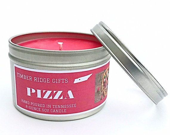Pizza Gifts, Pizza Lover Gifts, Pizza Lovers, Pizza Love, Pizza Gifts For Men, Pizza Scented, Pizza Scented Candle, Pizza Candle