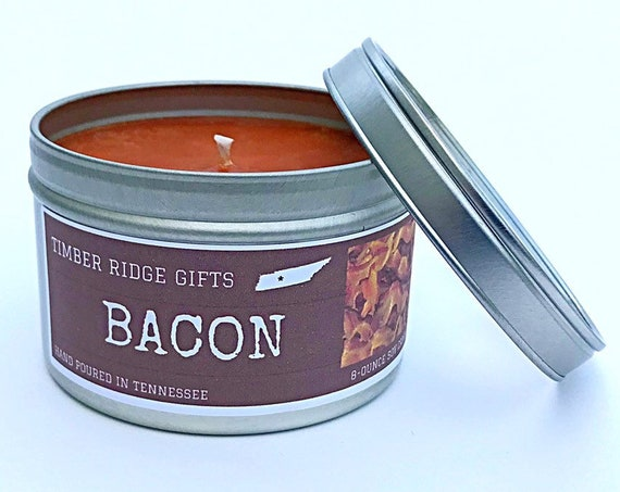 Bacon Gifts, Bacon Candle, Bacon Scented Candles, Bacon Scent, Bacon Gifts For Men, Novelty Gifts For Dad, Novelty Gifts For Men