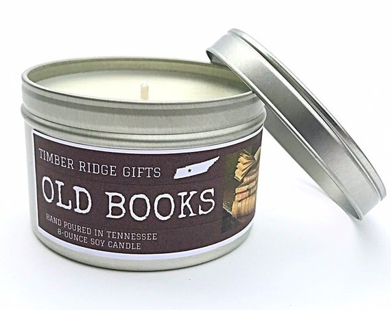 Book Lovers - Book Candles - Book Candles Soy - Book Lover Gift - Book Lover Gift - Book Lover Candles - Book Scented Candle - Book Scented