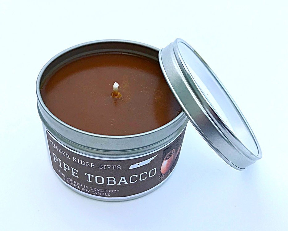 Tobacco Scented Soy Candle, Tobacco Scented Candle ...