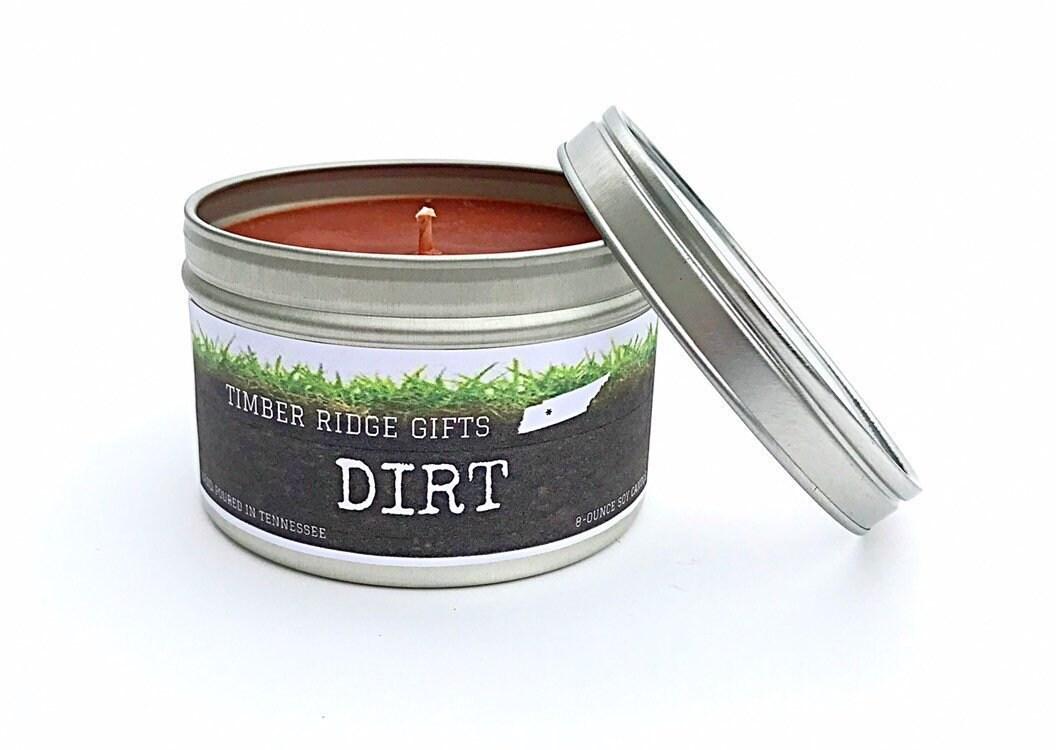 Gift For Gardener, Dirt Candle, Gardening Gift, Scented ...
