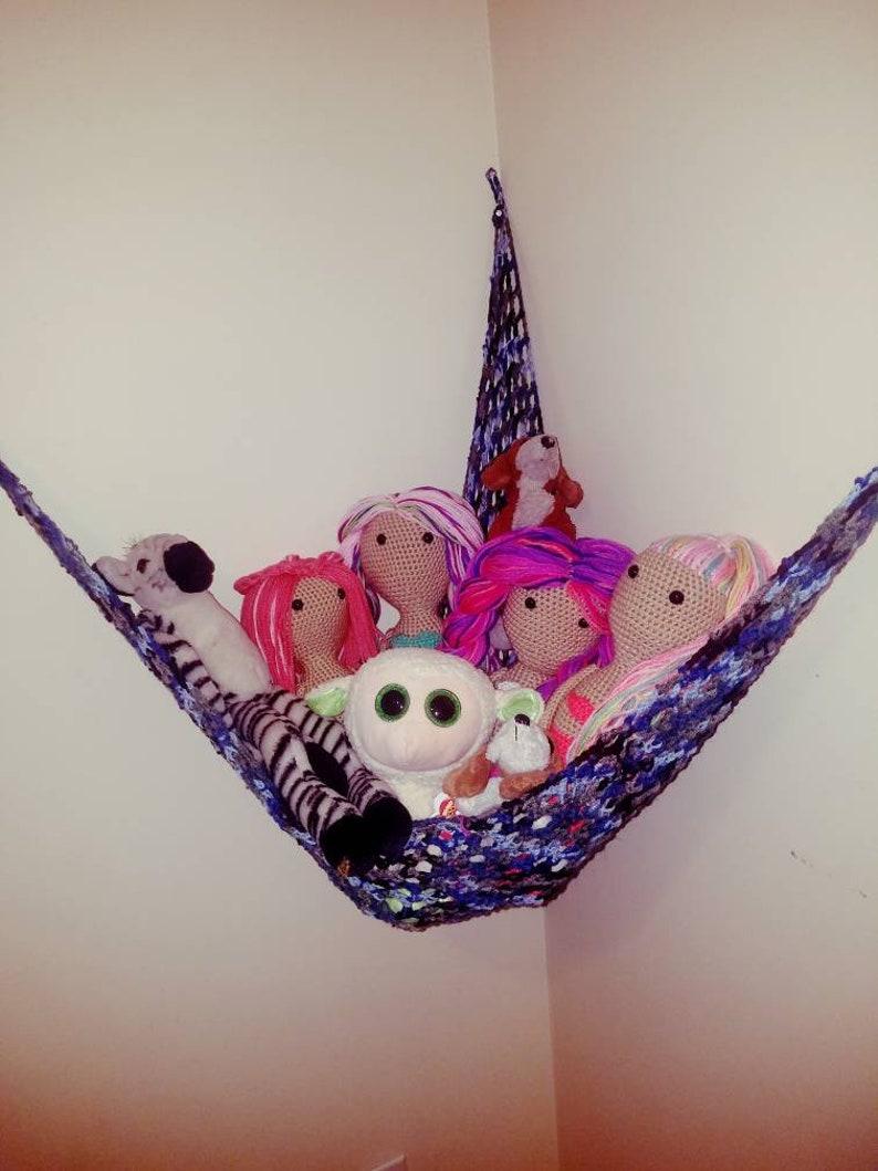 Handmade Crochet Toy Hammock Etsy