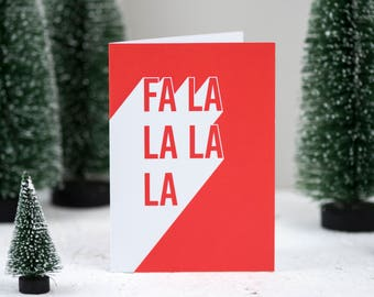 Christmas card - Christmas cards - Fa la la la la