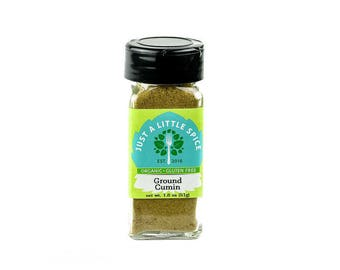 Spices - Gluten Free Cumin - Organic Spice - Organic Cumin - Gourmet Spice - Cooking Spices - Non-GMO Spices - Middle Eastern Spice