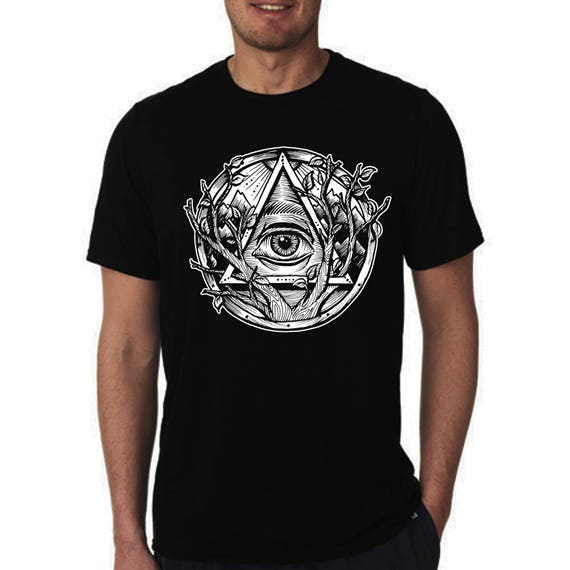 Devil Smiling Satan Hell Adult T-Shirt White Shirt