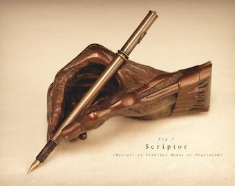 Scriptor (Musculi et Tendines Manus et Digitorum)