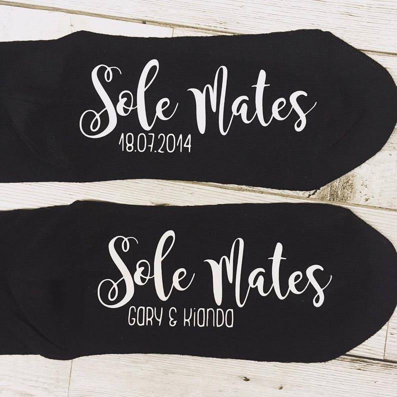 3389cd3a0419d7 Personalised socks Sole Mates Soul Mate Socks Wedding gift