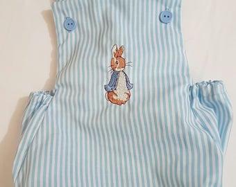 Peter rabbit romper 12montgs