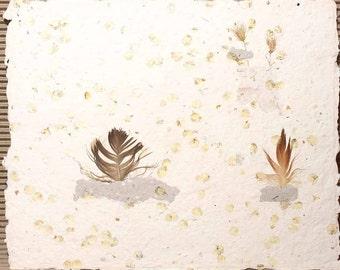 Handmade paper, Cotton rag Paper, Deckle Edge Paper, Deckled Edge Paper
