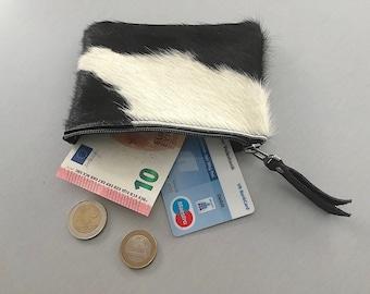 Wallet made of cowhide