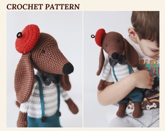 Free Crochet Pattern for an Amigurumi Teddy Bear in a Sweater ... | 270x340