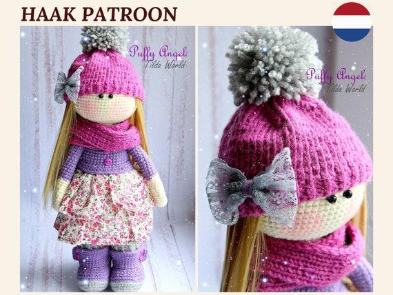 Dutchnetherlands Crochet Doll Pattern Pop Haakpatroon Pdf