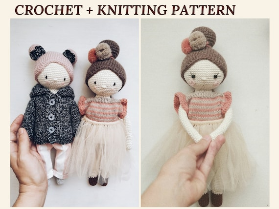 Molly Crochet Doll Pattern - Amigurumi | The WHOot | 427x570
