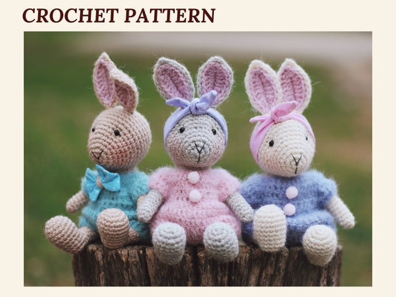 Amigurumi Bunny Doll Pattern | 428x570