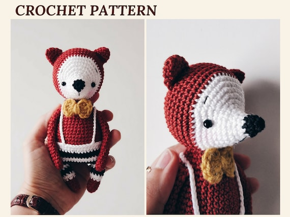 CUTE AMIGURUMI | FOX AMIGURUMI CROCHET TUTORIAL | FREE PATTERN - YouTube | 428x570